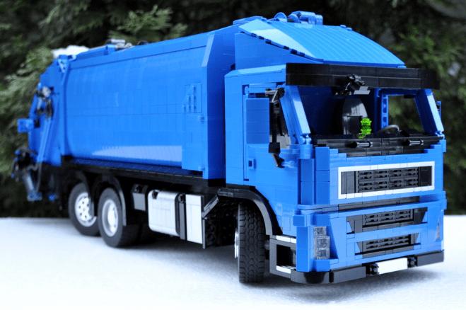 Lego Bin Lorry