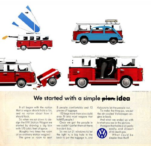 Lego VW Adverts