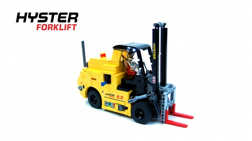 Lego RC SBrick Forklift