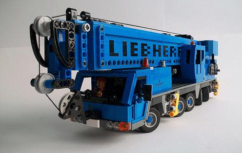 Lego Liebherr Crane
