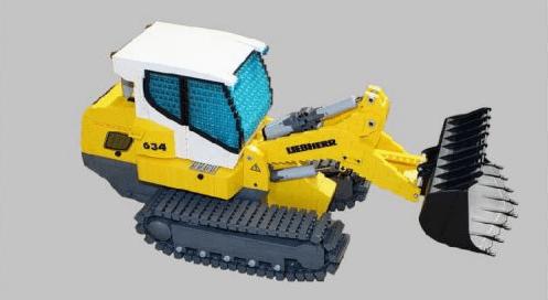 Lego Liebherr LR 634