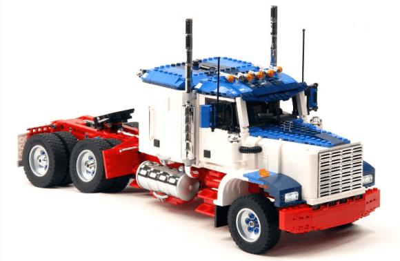 Lego Model Team Truck