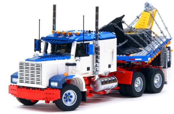 Lego RC Truck