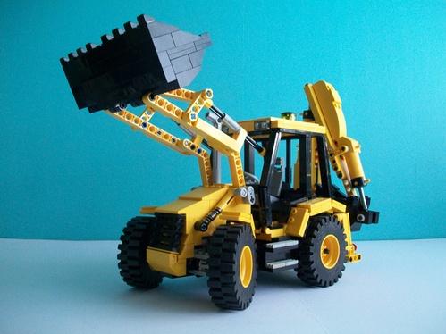 Lego JCB