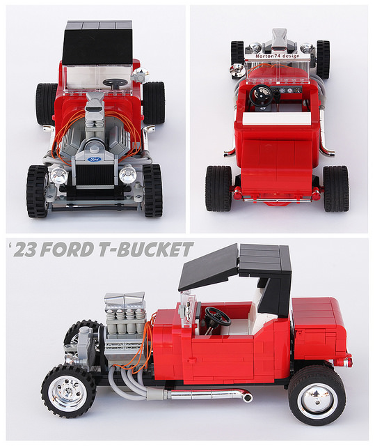 Lego Ford Model-T Hot Rod