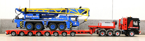 Lego Crane Transport Truck