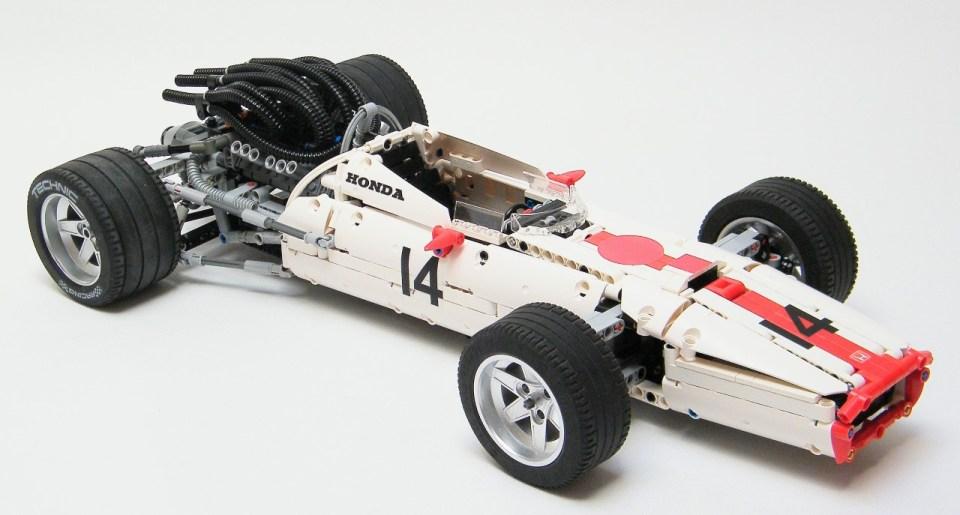 Lego Technic Honda RA300 Formula 1 Grand Prix Car