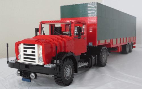 Lego DAF FT 18DS Truck