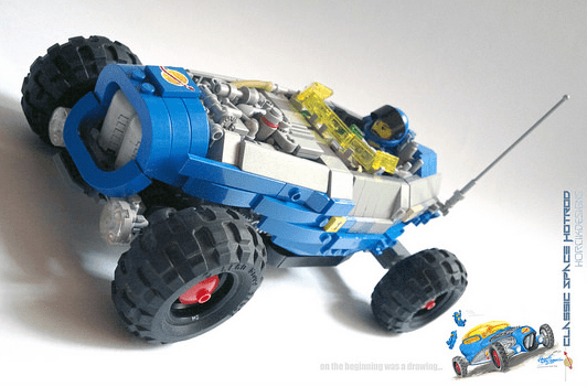 Lego Space Hot Rod
