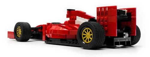 Lego Ferrari SF15-T F1 Car