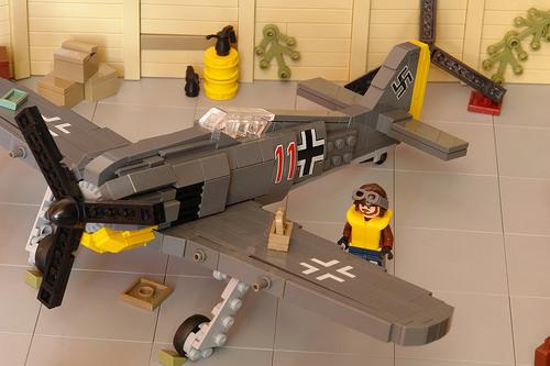 Lego Focke Wolf Fighter