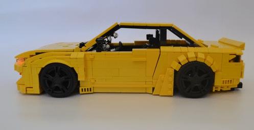 Lego Nissan Silvia S14