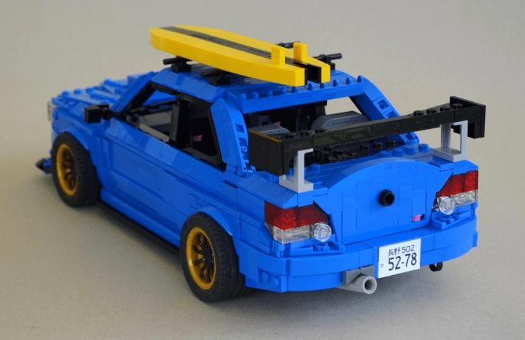 Lego Subaru WRX STI