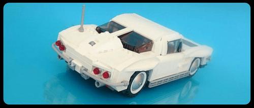 Lego Corvette Stingray Firas Abu Jaber