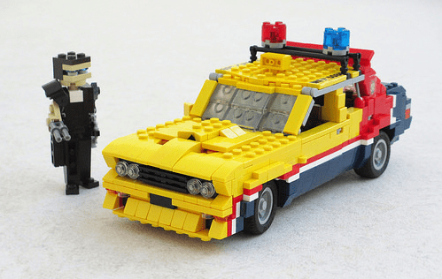 Lego Mad Max Ford Falcon Interceptor