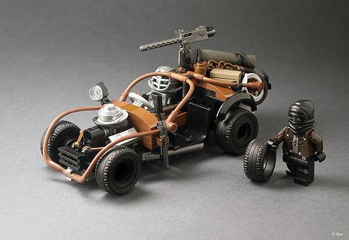 Mad Max Fury Road Nomad Lego