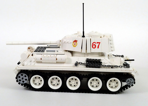 Lego T34 RC Tank