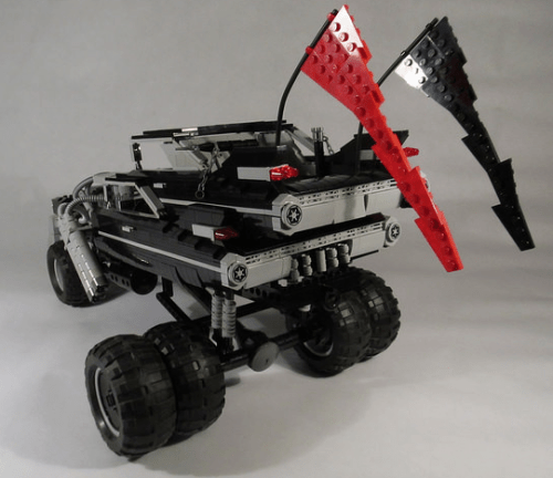 Lego Mad Max Fury Road Cadillac Imortan Joe
