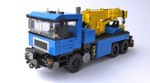Lego MAN Tow Truck