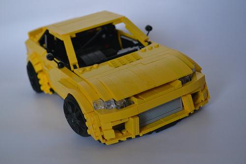 Lego Nissan Silvia S15 Rocket Bunny