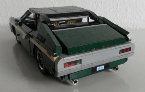 Lego Clint Eastwood Gran Torino Car