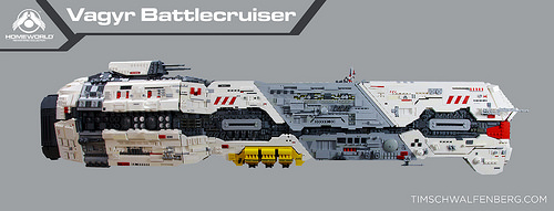 Lego Homeworld Vaygr Battlecruiser