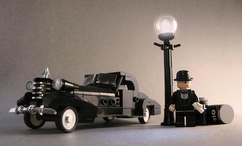 Lego Gangster Car