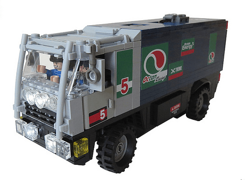 Lego RC Rally Truck