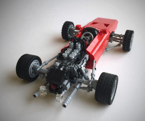 Lego Ferrari Dino F2