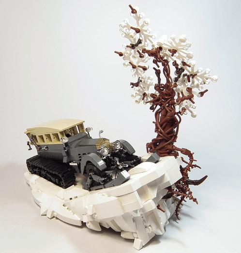 Lego Rolls Royce Silver Ghost Snowmobile