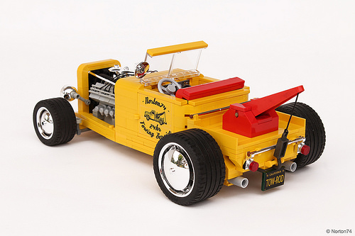 Lego Hot Rod Tow Truck