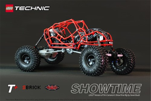 Lego Technic RC 4x4 Showtime