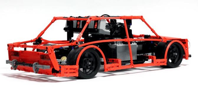 Lego Technic Drift Car