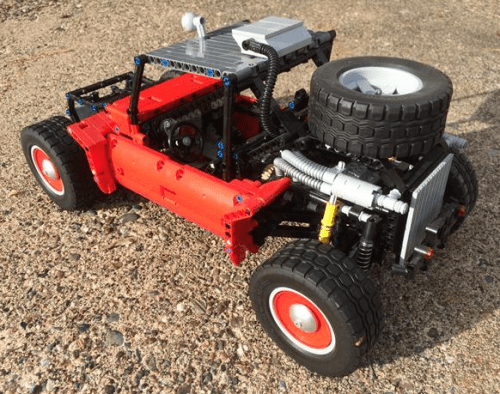 Lego Technic Baja Boot