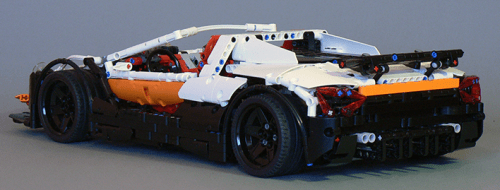 Lego Technic Supercar 2016