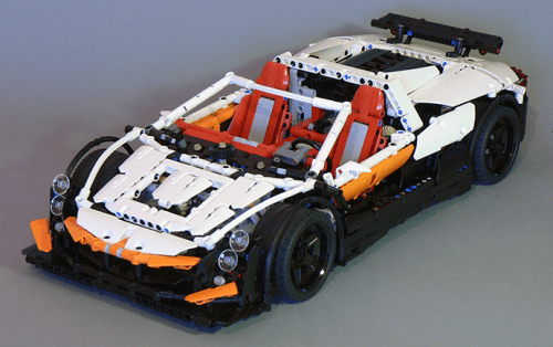 Lego Technic Supercar