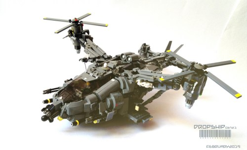 Lego Dropship Helicopter