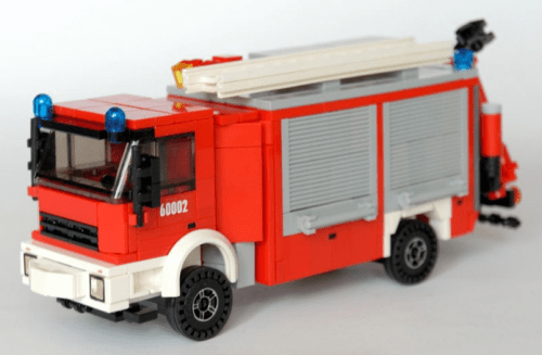 Lego Iveco Fire Truck