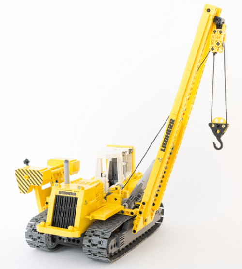 Lego Liebherr Pipe-Layer RC