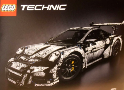 Lego Technic Porsche 911 GT3 RS Set 42056 Review