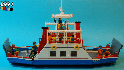 Lego City Car Ferry