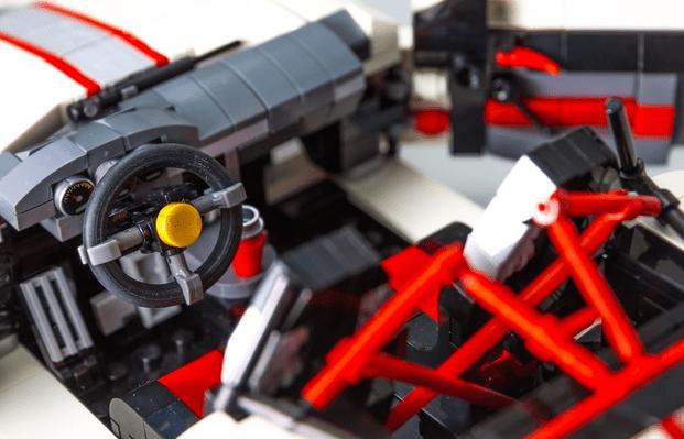 Lego Porsche 911 Interior