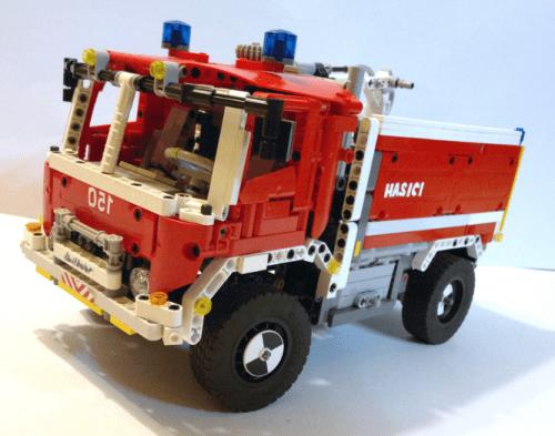 Lego Technic Fire Truck
