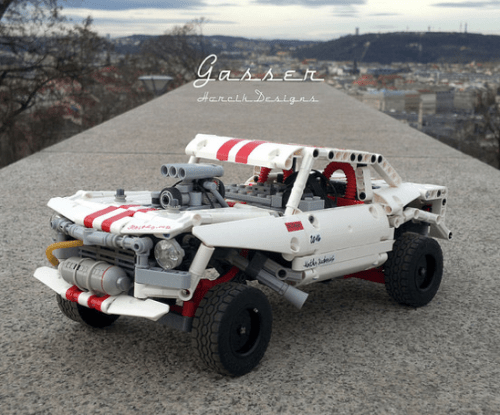 Lego Technic RC Gasser Hot Rod