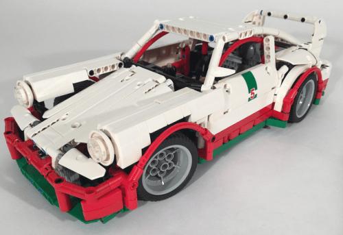 Lego Technic Porsche 911 Carrera Cup