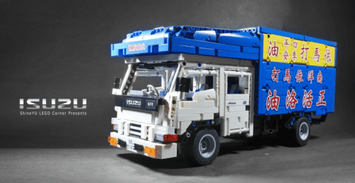 Lego Technic Isuzu Truck