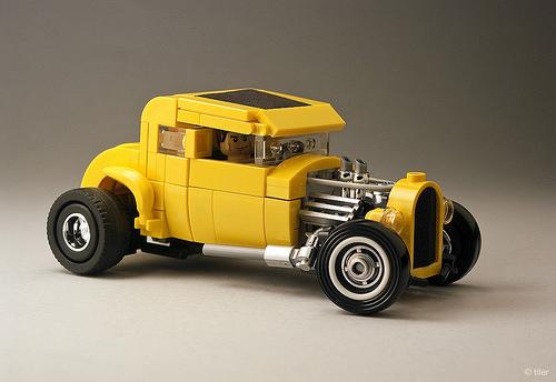 Lego American Graffiti Deuce Coupe Hot Rod