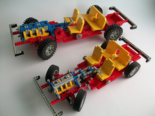 Lego Technic 853 Set