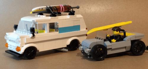 Lego Ford Transit VW Buggy