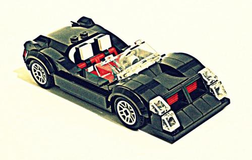 Lego Blackjack Concept Car